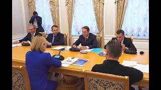 Председатель РИО провел рабочую встречу с Министром культуры РФ