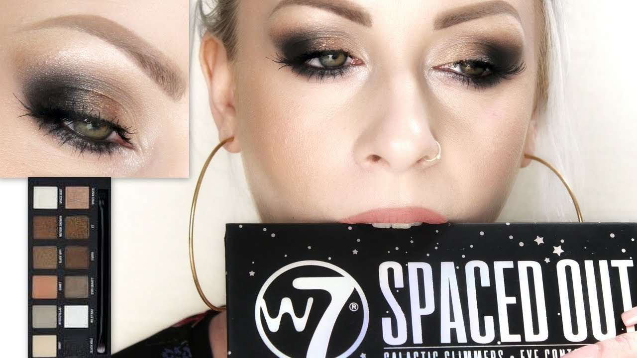 New!! W7 Spaced Out  Review Swatches Tutorial  Jane