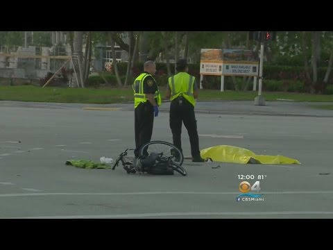 Man On Bike Struck, Killed In Plantation