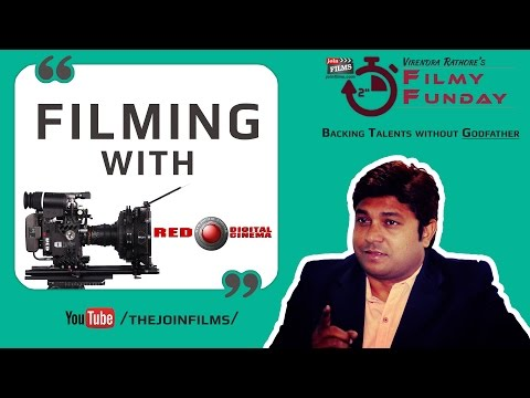 Filmmaking with Red (Epic) Camera - रेड कैमरा के साथ फिल्म निर्माण | Filmy Funday #26 | Joinfilms