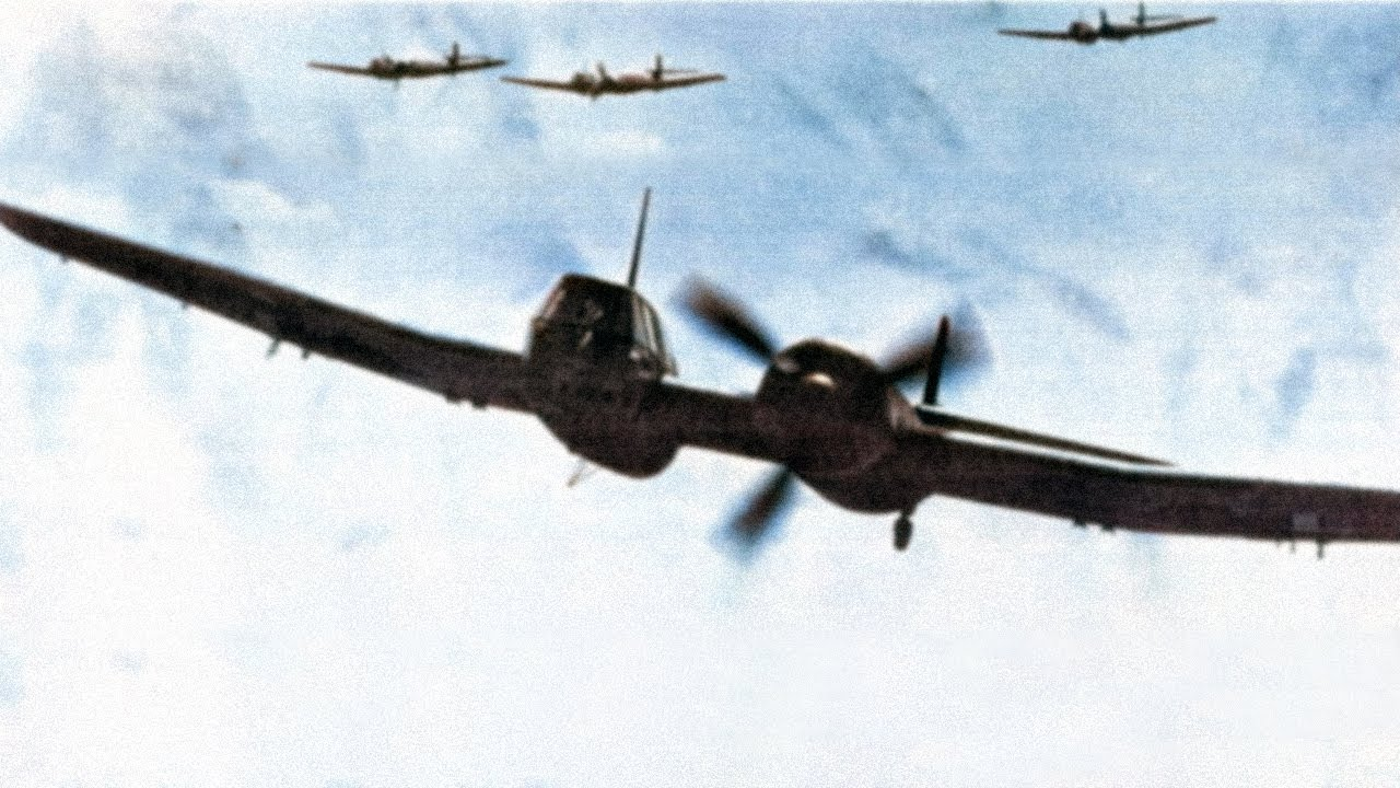 BV 141 - The Most Asymmetrical Airplane of WW2