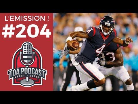 TDA Podcast n°204 : Deshaun Watson superstar et la folie des trades !