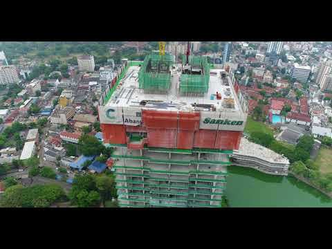 Colombo City Center - Structure Completion by Sanken Construction