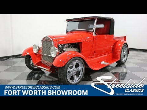1929 Ford Model A Roadster Pickup For Sale [2947 DFW]