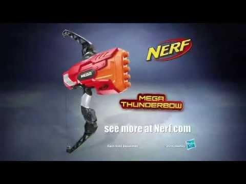 toy commercial 2014 nerf mega thunderbow thunderstorm it s