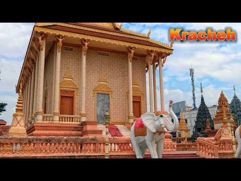 Krong Kracheh - Kratie - City Tour - Cambodia - 1/18