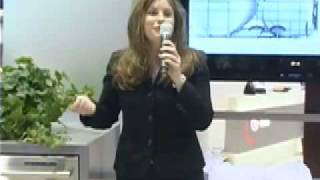 LG Product Demonstration at KBIS 2006 (Emilie Barta, Trade Show Presenter/Corporate Spokesperson)