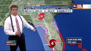 Hurricane Irma Update | Florida's Most Accurate Forecast with Denis Phillips on Friday at 11:59PM