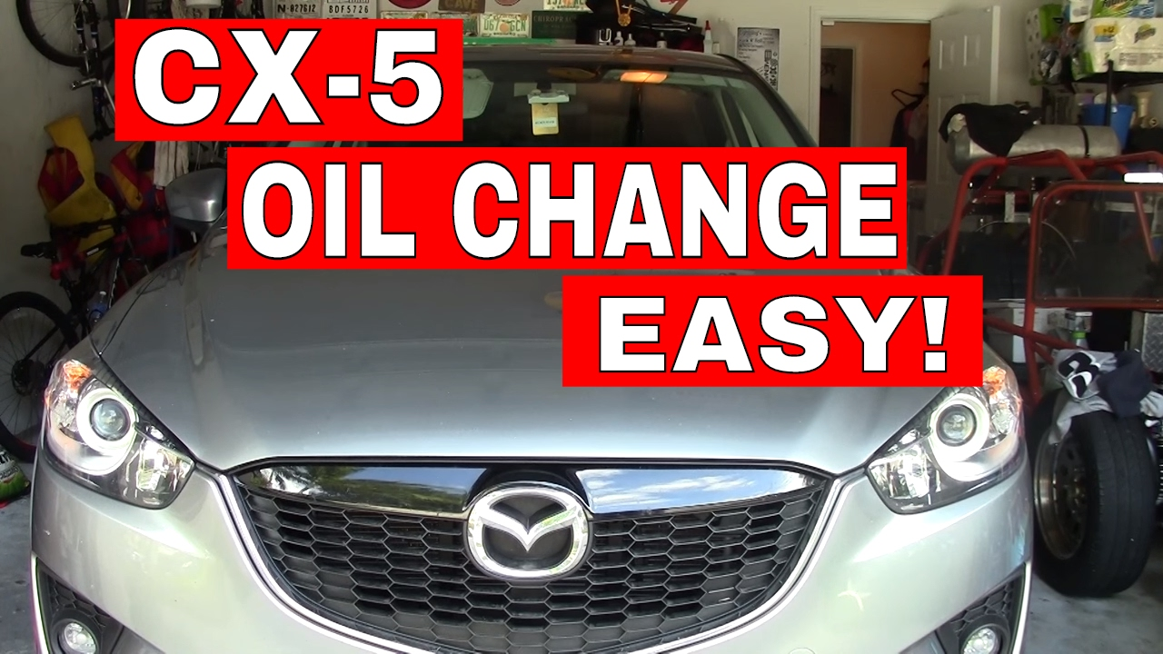 2014 Mazda 3 Oil Change >> 2014 Mazda Cx5 How To Do An Oil Change Step By Step Tutorial