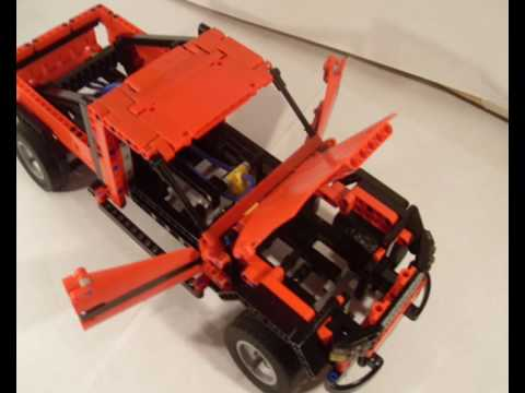 lego technic 8258 b model mod youtube. Black Bedroom Furniture Sets. Home Design Ideas