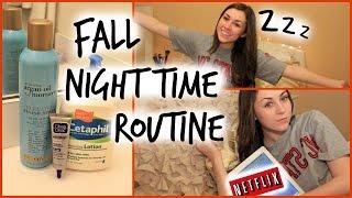 Fall Night Routine 2014!