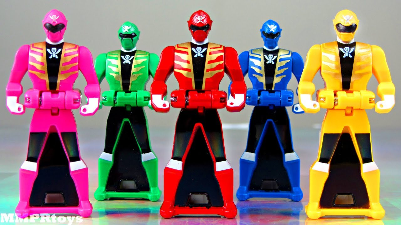 Yellow Pink Ranger Keys Power Rangers Super Megaforce Youtube