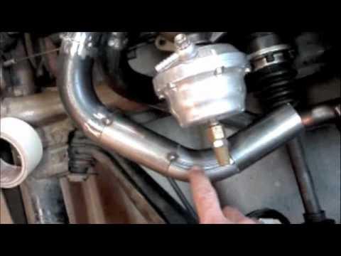 Building a VW Turbo Header Part 1