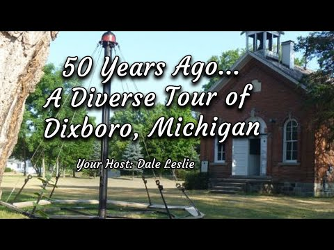 25 years ago: a 1989 Tour of Dixboro, Michigan (a quaint hamlet east of Ann Arbor)