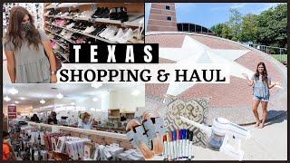 *NEW* SHOP WITH ME | TEXAS SIZE SHOPPING HAUL | SHOP WITH ME + HAUL 2020