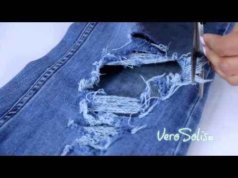 Стильные идеи обновления джинсов своими руками