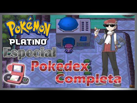 Pokémon Platino Especial : Pokedex Completada!!!