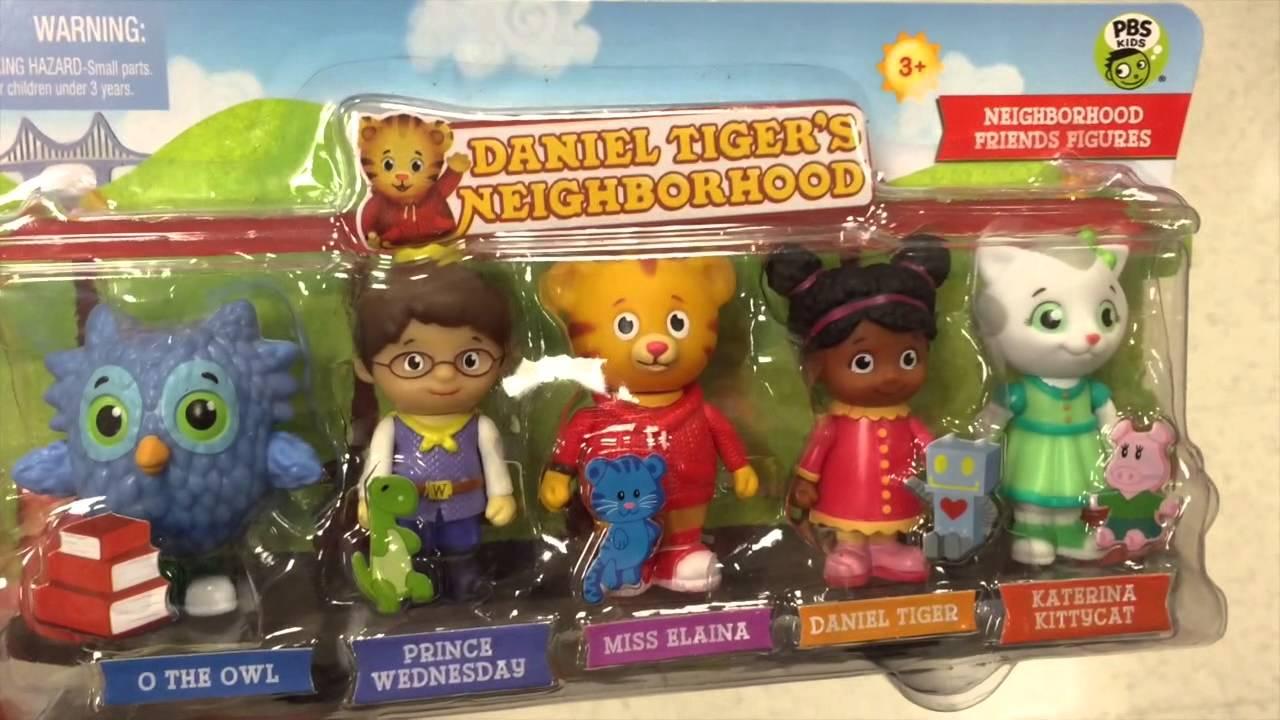 Daniel Tiger/'s Neighborhood Family Figure 5-Pack