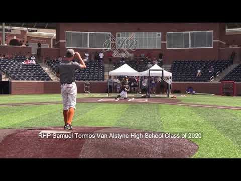 RHP Samuel Tormos Van Alstyne High School Class of 2020