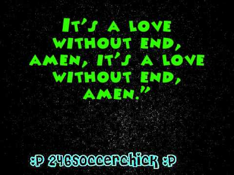 George Strait A Love Without End Amen Lyrics