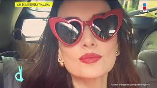 Ana de la Reguera confiesa que está.... ¡Enamorada! de un colombiano| De Primera Mano