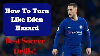 Best Soccer Drills For Turning- Turn Like Hazard! (Individual Soccer Drills!)