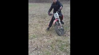 Presentation dirt bike 150 yx