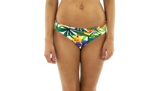 Tommy Bahama Happy Hawaii Twist Front Hipster Bottom | Swimoutlet.com