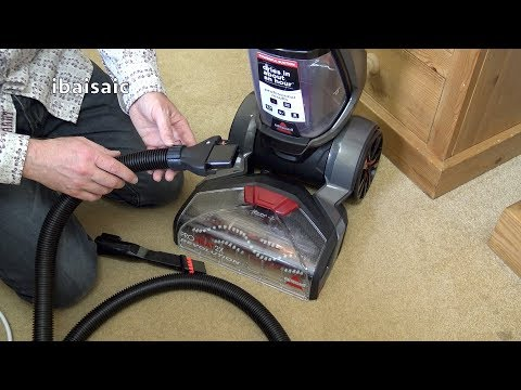 Bissell Revolution Carpet Washer Demonstration Cleaning 3 Carpets