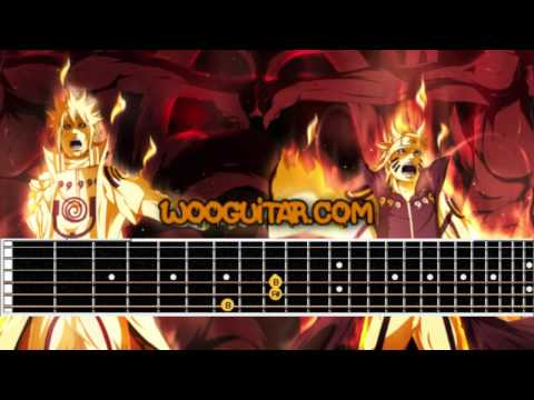 Naruto - Theme Song Haruka Kanata Guitar