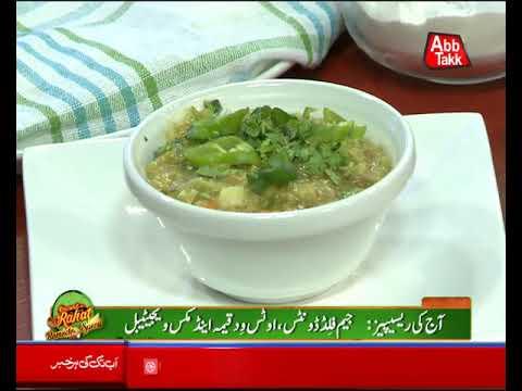 Abb Takk - Daawat-e-Rahat Ramzan Special - 4th Sehri (Jam Filled Donuts) - 20 May 2018