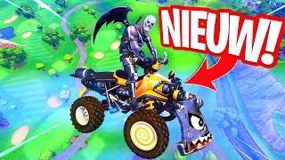 DE NIEUWE QUADRUSHER TESTEN!! IS DIT TE STERK? MAP CHANGES! Fortnite Gameplay