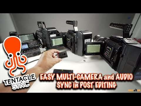 Tentacle Sync TimeCode Generator Sync Multiple Cameras and  Recorders FAST