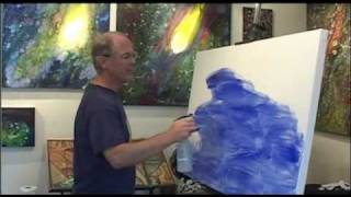How to Create Space Art Paintings, Part 1