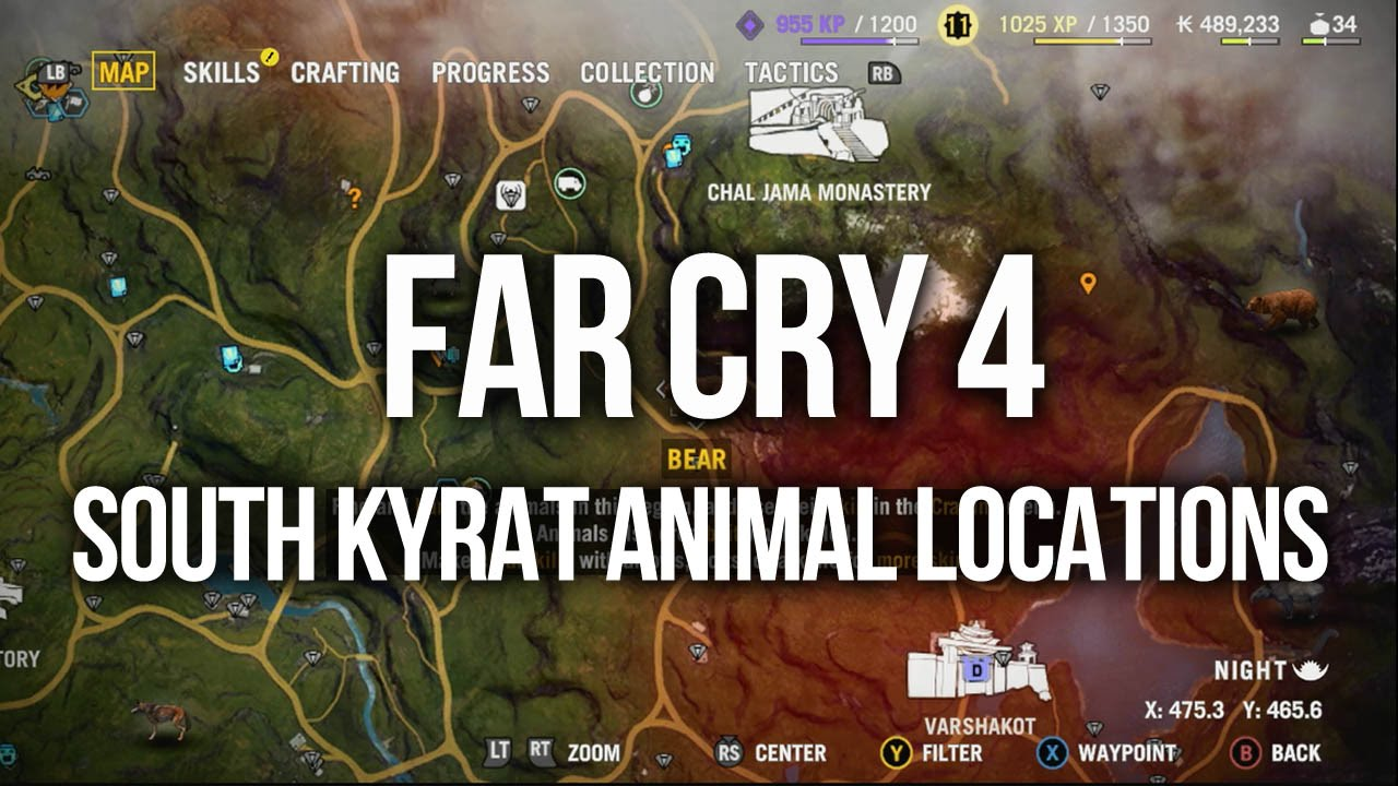 Far Cry 4 Crafting Guide And Animal Locations Accelerated Ideas
