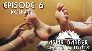 Indian Girl performs Feet Massage - ASMR no talking video