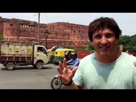 Viaje a India. Agra. Fuerte de Agra 1. Fuerte rojo. Travel to India. Agra Fort. Red Fort.