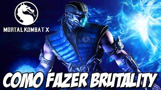 Mortal Kombat X - Como fazer BRUTALITY