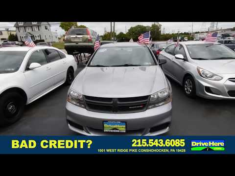 2014 DODGE AVENGER, 100% Application Review Policy