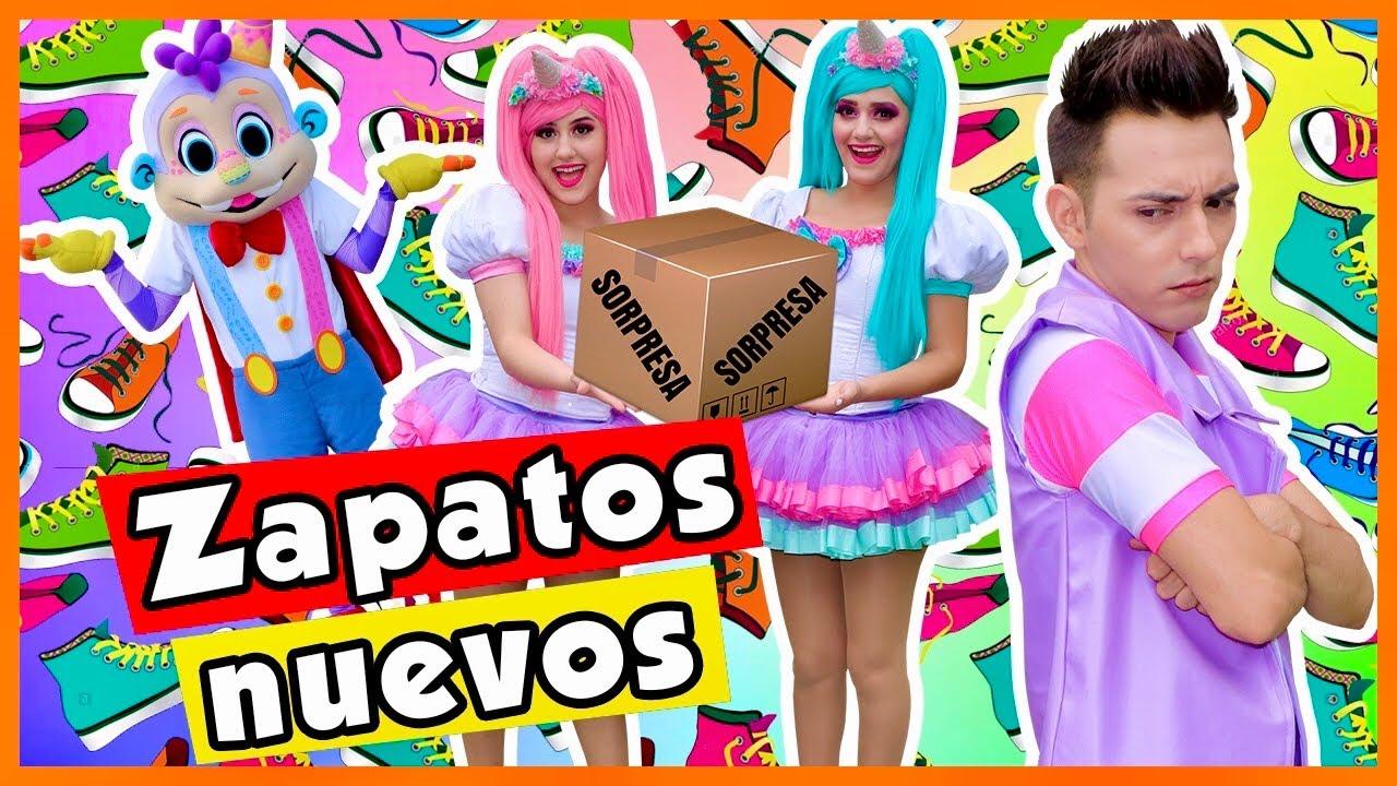 ZAPATOS NUEVOS / SHOW PIEDRA PAPEL O TIJERA / PUMPE DESTROZA LOS ZAPATOS DE MIKO / NO TENGO ZAPATOS