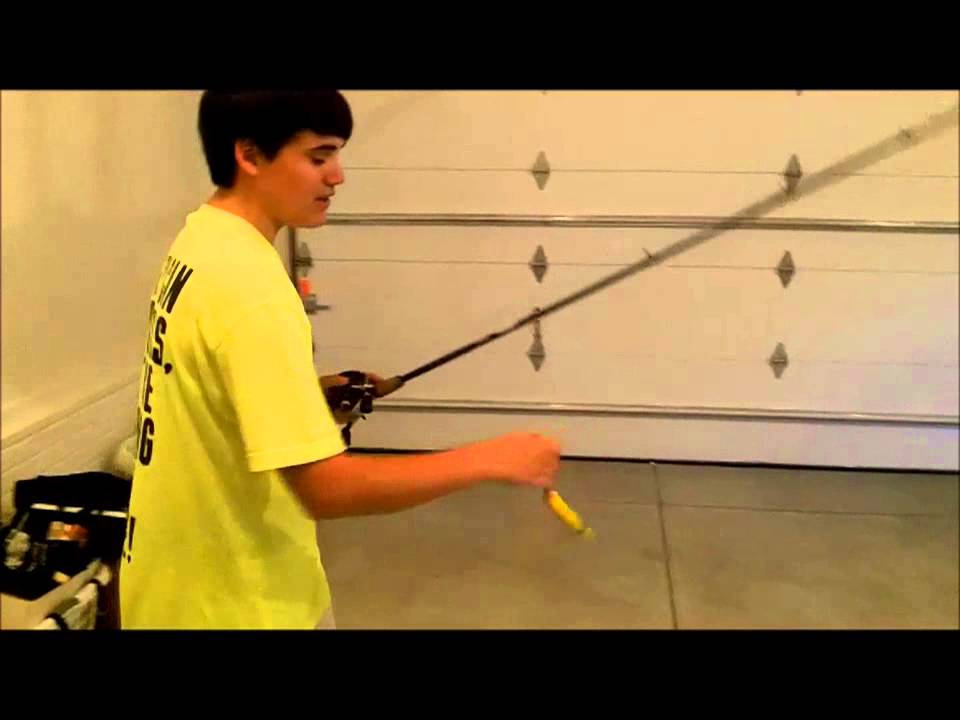 How to flip and pitch with a baitcaster in depth video for Flair fishing rod