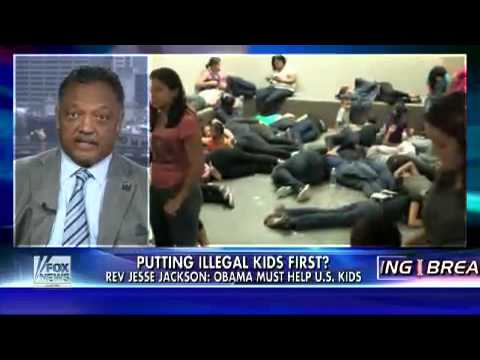 Jackson To Obama: $4 Billion For Illegals' Kids, What About Ours?