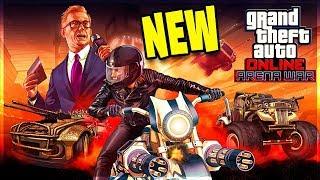 NEW GTA ONLINE DLC!! Arena Wars (Total Destruction)