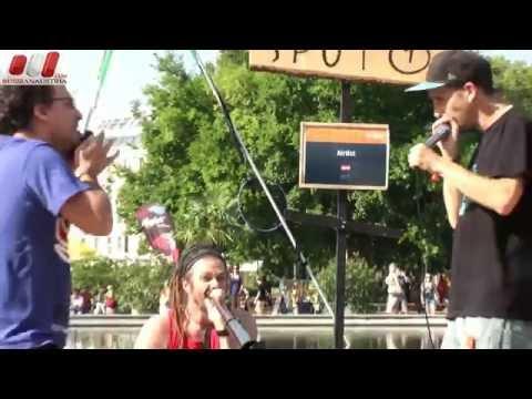Airtist - Organic beats (Österreich). Straßenkunst Festival in Wien by Russian Austria