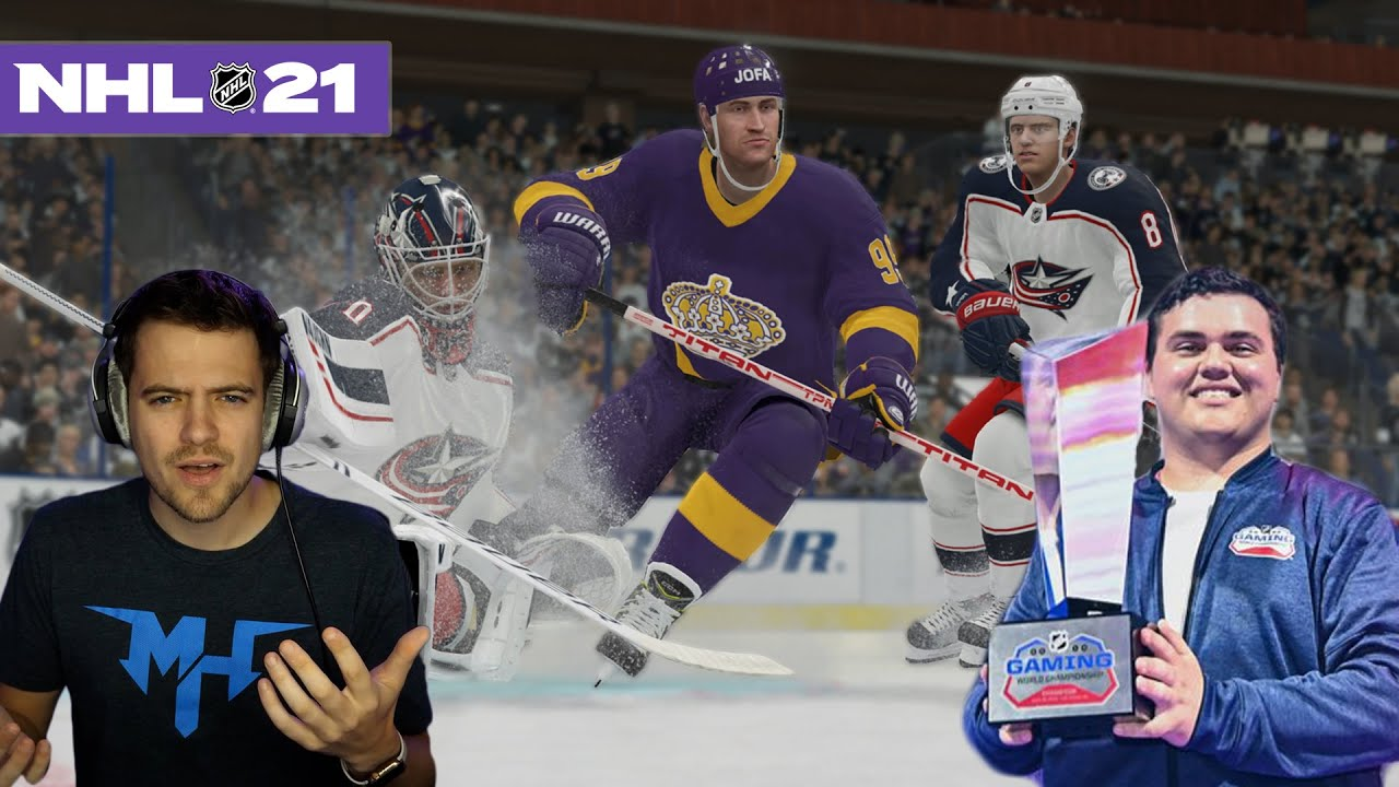NHL 21 VS THE #1 PLAYER IN THE WORLD