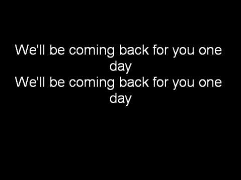Calvin Harris feat. Example - We'll be coming back (lyrics)