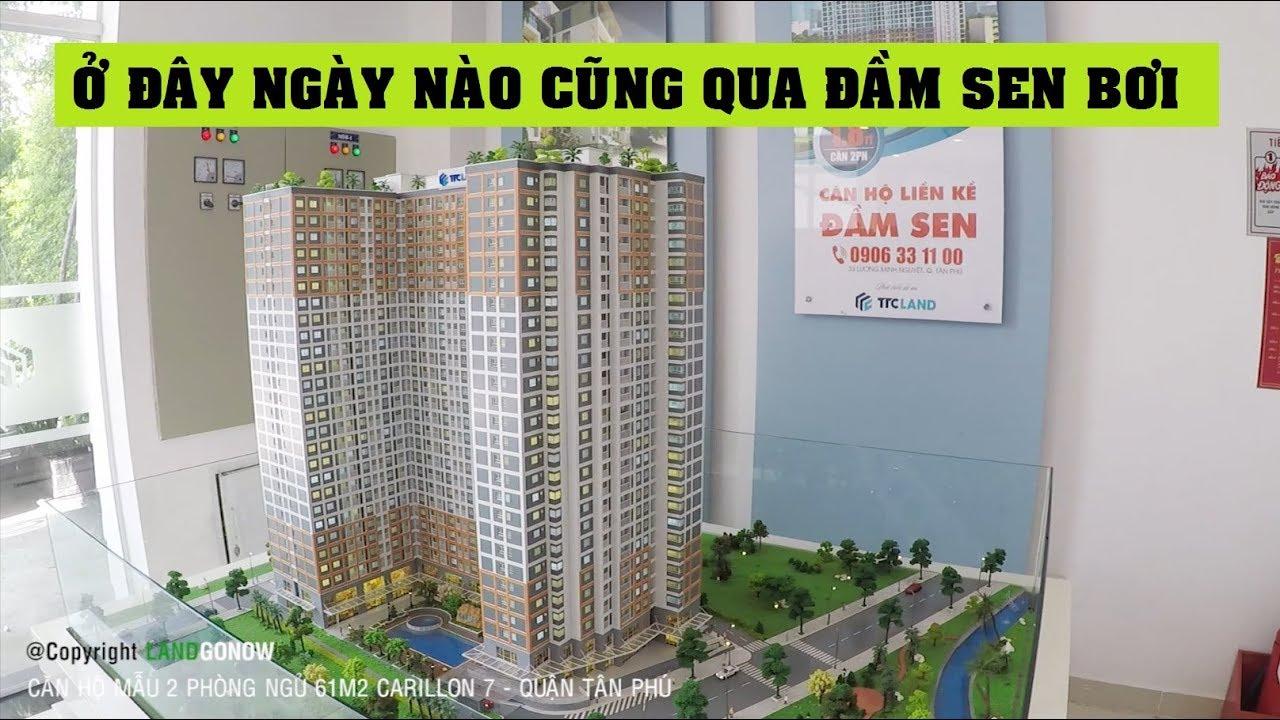Căn hộ nhà mẫu Carillon 7 61m2 2 phòng ngủ, Tân Phú – Land Go Now ✔