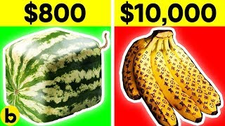 The World's Most Expensive Fruits And Liquids