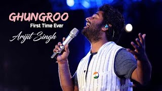 Ghungroo (HD) | Arijit Singh Live | First Time Ever | Hyderabad-2019
