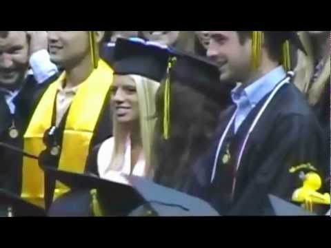 Jessie Whitman graduation from Appalachian State University May 2012